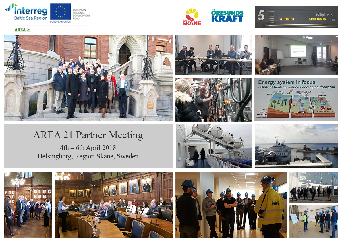 2nd Official Project Meeting in Helsingborg, Region Skåne, Sweden: Progressing Local Project Activities